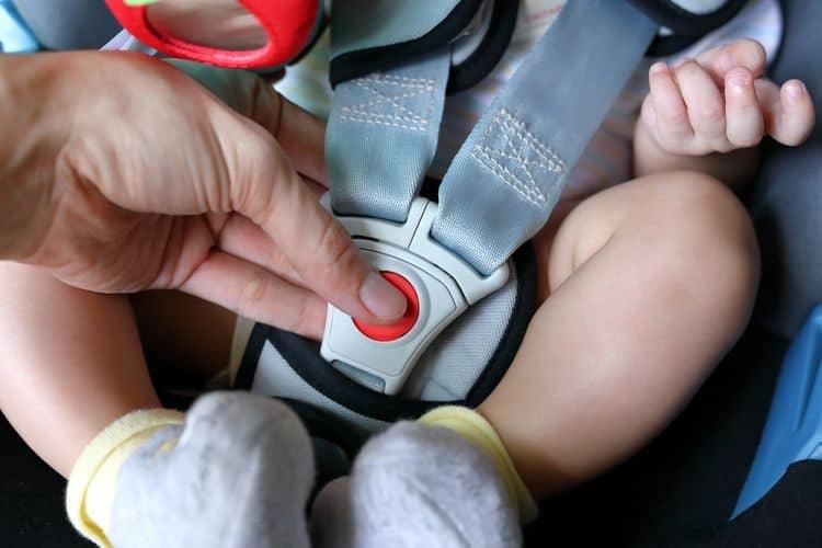 Ochranné prvky autosedačky