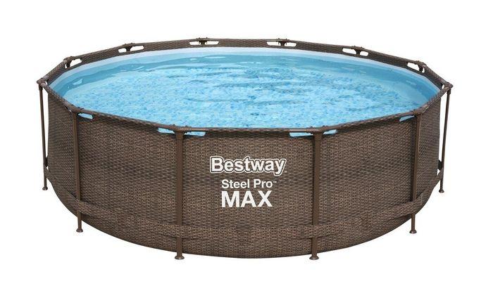 Bestway Steel Pro Max Rattan recenzia