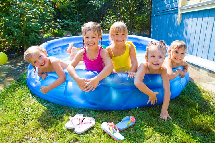 Detský nafukovací bazén
