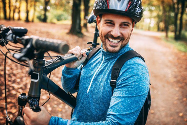 Hmotnosť horského bicykla