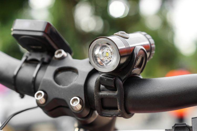 Predné svetlo na bicykel