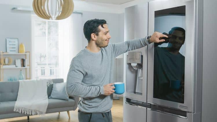 Americká chladnička – funkcie