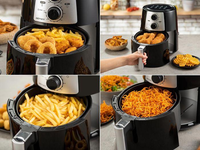 Teplovzdušná fritéza Delimano Air Fryer Pro