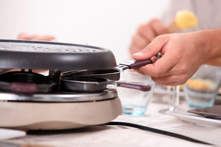 Ako vybrať raclette gril