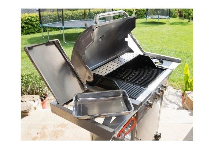 Plynový gril G21 California BBQ Premium line miska