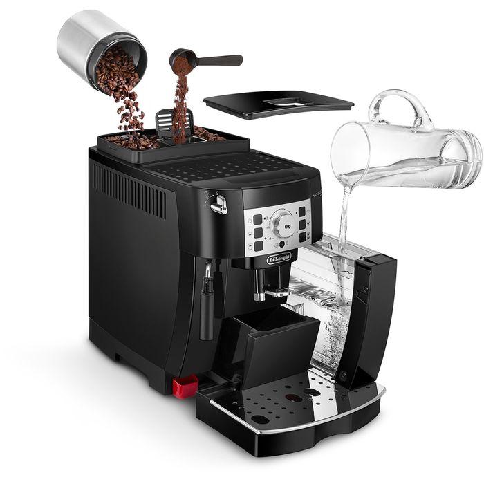 Automatický kávovar DeLonghi ECAM 22.110 B recenzia