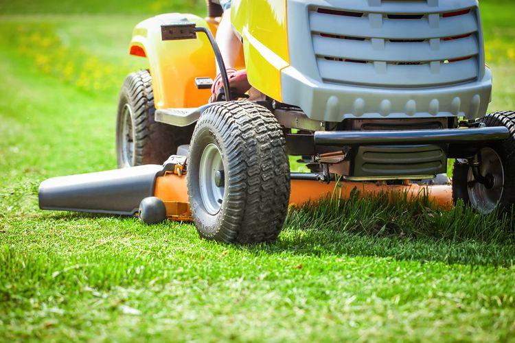 Šírka záberu záhradného traktora