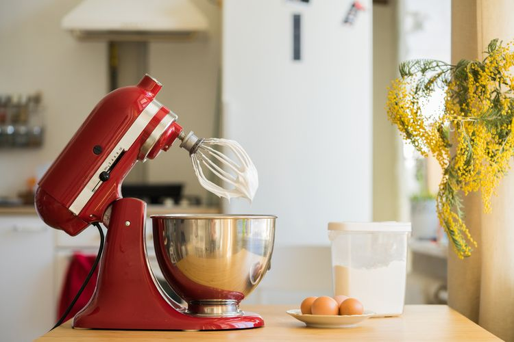 Najlepší červený kuchynský robot