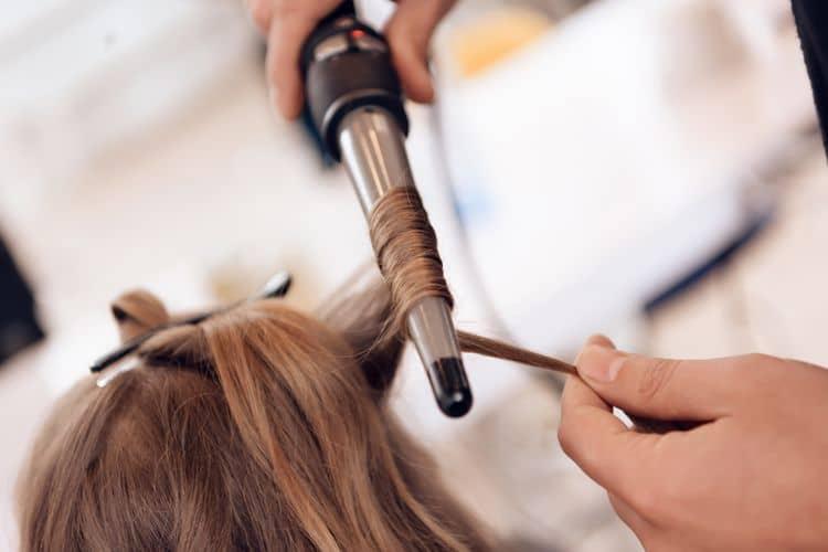 Kónická kulma na vlasy