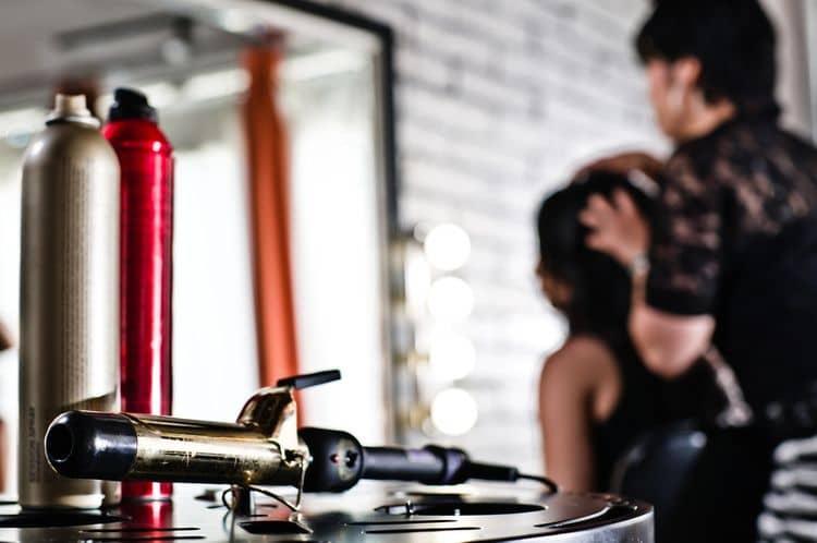 Nerezová kulma na vlasy