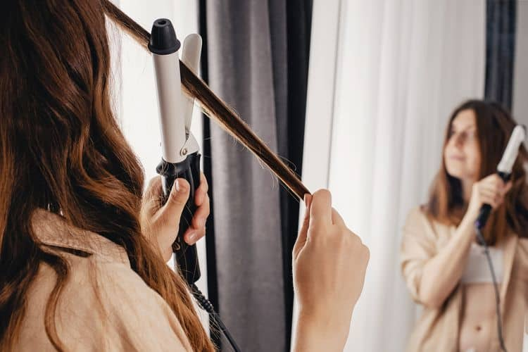 Turmalínová kulma na vlasy