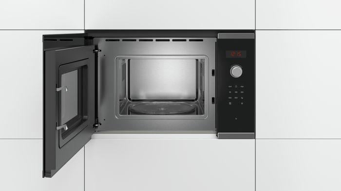 Otvorená vstavaná mikrovlnka Bosch BFL523MS0