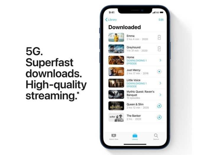 Apple iPhone 12 mini 64 GB podpora 5G siete