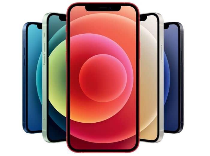 Apple iPhone 12 mini 64 GB displej