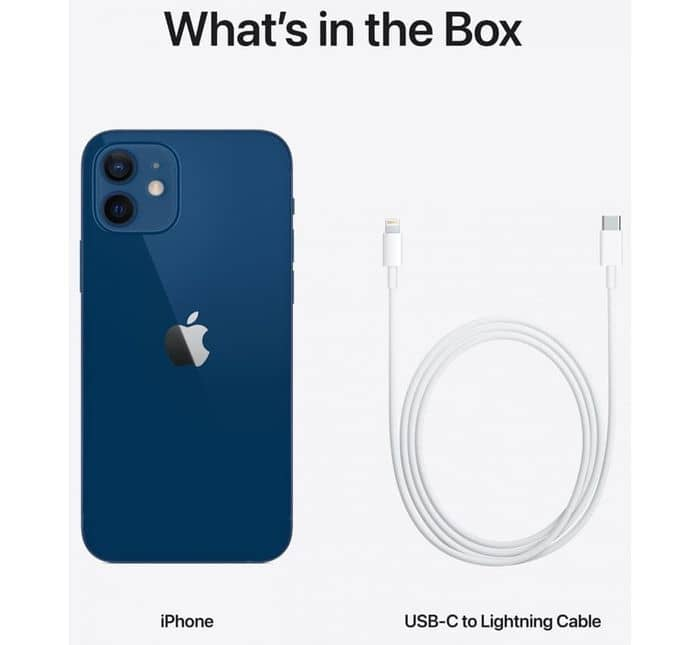Apple iPhone 12 mini 64 GB príslušenstvo