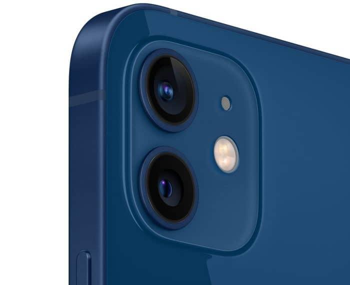 Apple iPhone 12 mini 64 GB fotoaparát