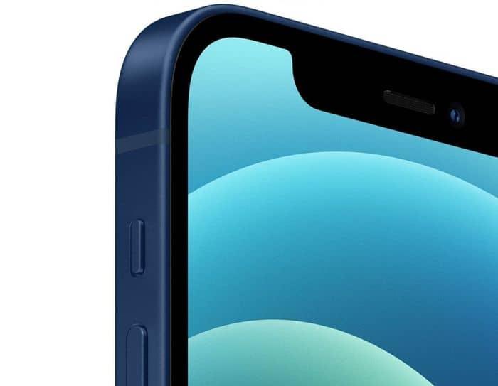 Apple iPhone 12 mini 64 GB zaoblené rohy