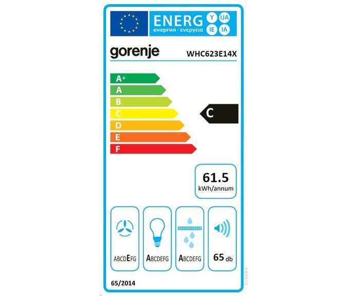 Gorenje WHC 623E14 X energetický štítok