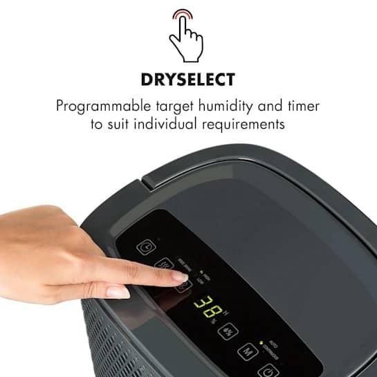 Klarstein DryFy 10 ovládanie