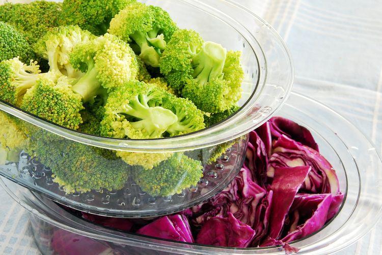 Príprava zeleniny v parnom hrnci