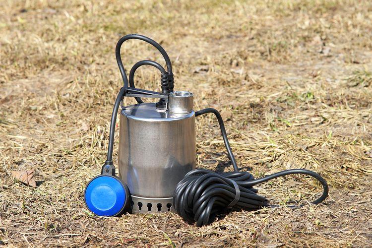 Ponorné kalové čerpadlo s plavákovým spínačom