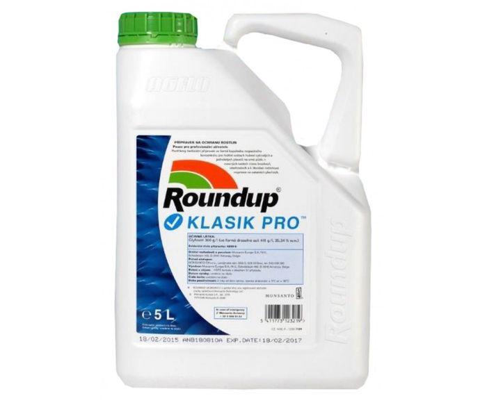Roundup Klasik PRO 5litrové balení