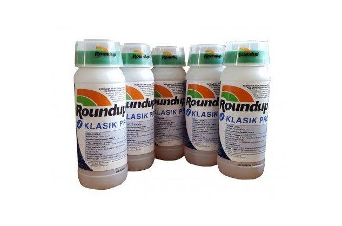 Postřik proti plevelu Roundup Klasik PRO