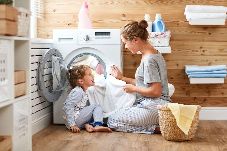 Účinnosť prania a odstreďovania práčky