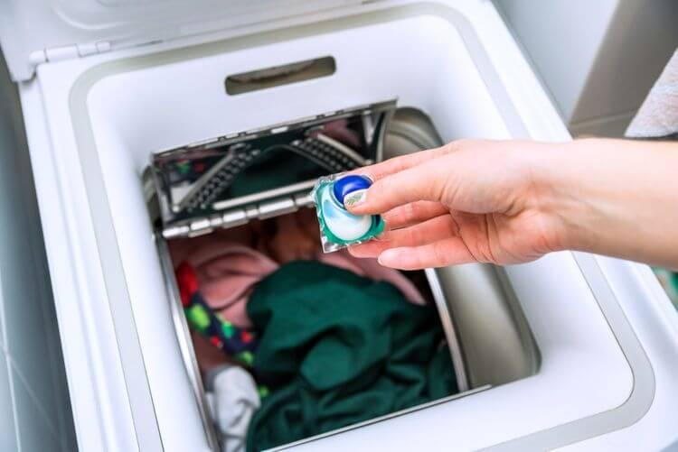 Kapacita bubna zhora plnenej práčky