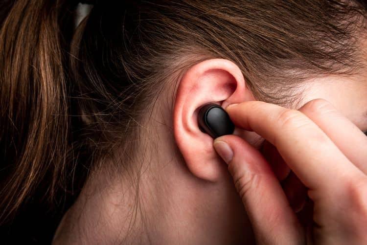 Bezdrôtové štuple do uší