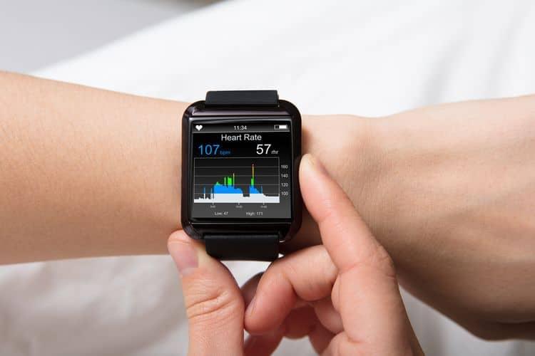 Smart hodinky displej