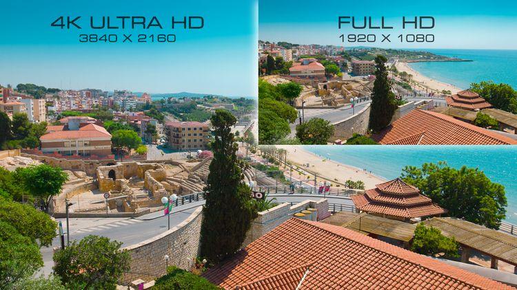 Kvalita obrazu 4K televízora