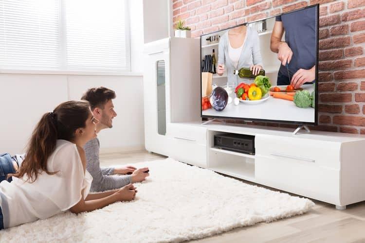Veľkosť TV podľa vzdialenosti