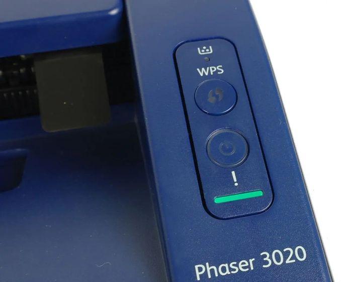 Xerox Phaser 3020Bi ovládanie