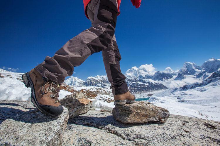 Materiál turistickej obuvi
