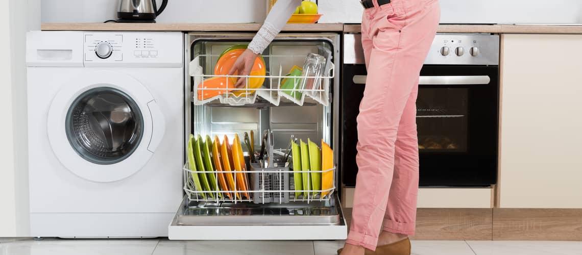 Voľne stojace umývačky riadu