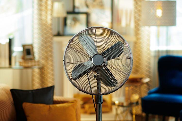 Stojanový ventilátor – funkcie