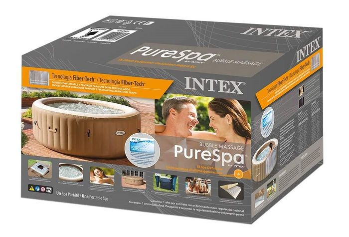 Intex 28426 PureSpa Bubble Massage balenie