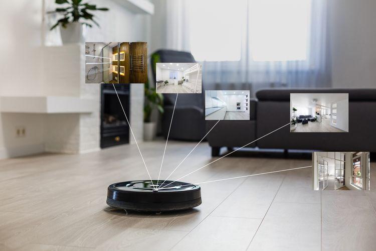 Robotický vysávač s inteligentným mapovaním