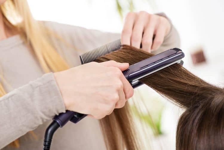 Tvar doštičiek žehličiek na vlasy