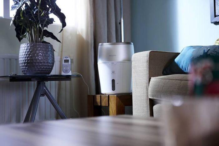 Zvlhčovač vzduchu Philips HU4803/01 recenzia